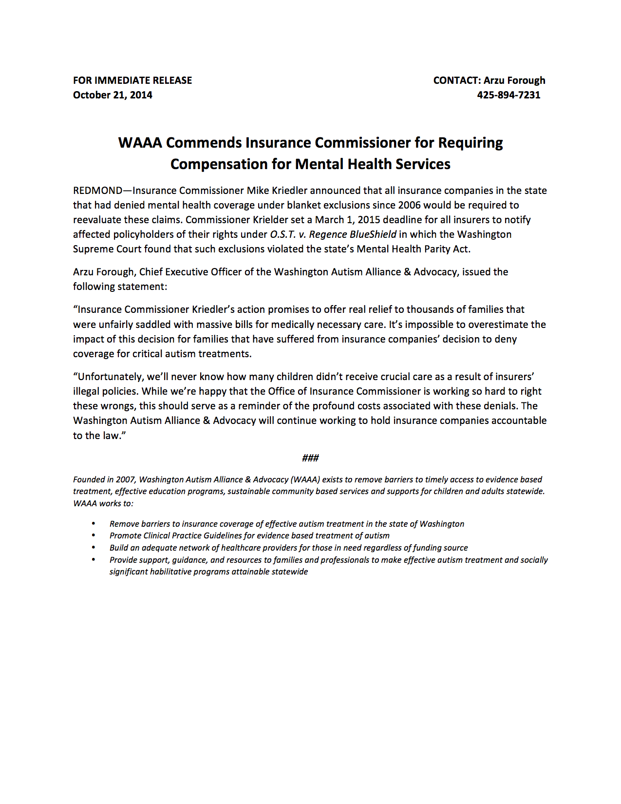 Advocacy News Archives Page 2 of 4 Washington Autism Alliance