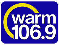 warm 106.9 logo